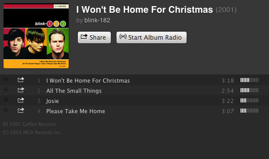 Blink 182 I Won T Be Home For Christmas.10 Christmas Songs You Re Probably Not Listening To This